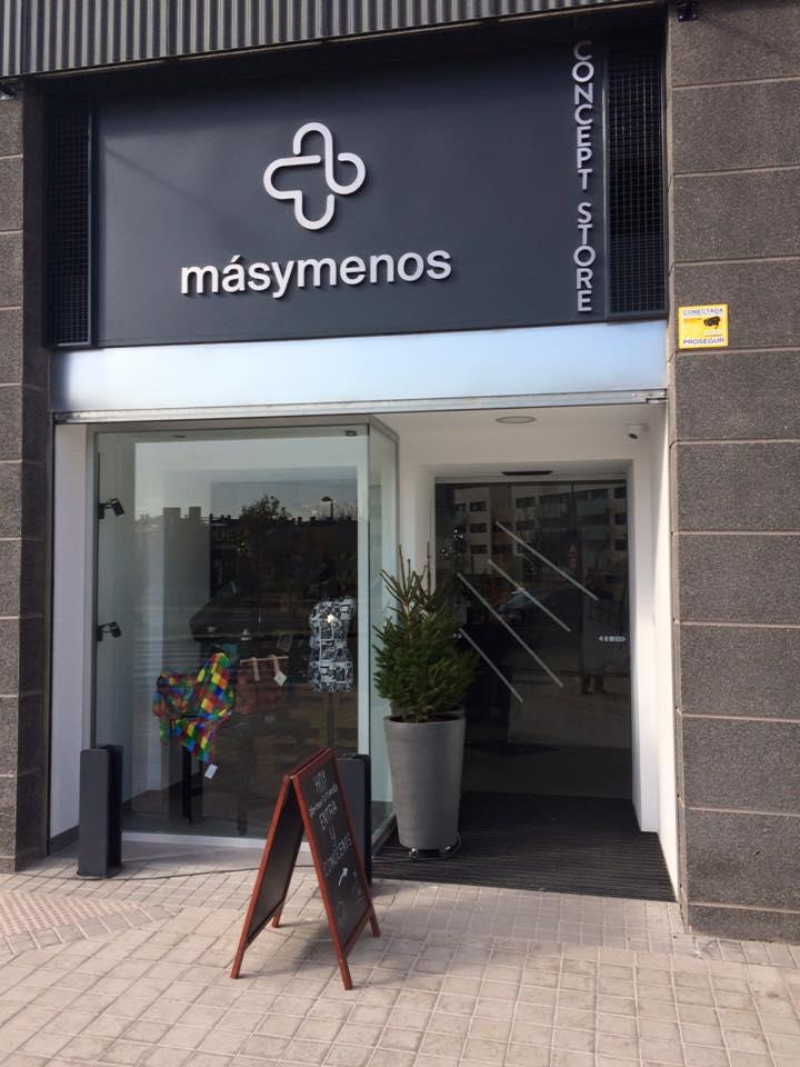 Local Más y Menos en Madrid