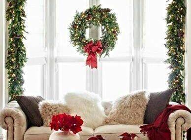 decorara ventanas coronas